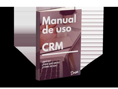 Manual de uso de CRM - Mockup